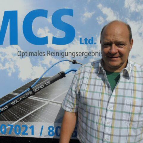 MCS - Ihr Ansprechpartner Jürgen Weiß für Photovoltaikreinigung und Taubenabwehr